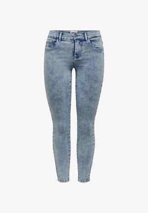ONLRAIN ANKLE - Jeans Skinny Fit - light blue denim