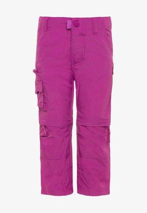 KIDS OPPLAND  - Outdoorové kalhoty - berry