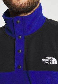 The North Face - GLACIER SNAP NECK - Fleece jumper - bolt blue/black - 3