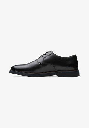 Zapatos de vestir - black leather