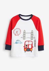 Next - 3 PACK LONDON BUS SNUGGLE PYJAMAS - Pyjama - red - 4