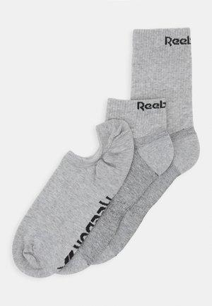 ALL PURPOSE SOCK 3 PACK - Sports socks - medium grey heather