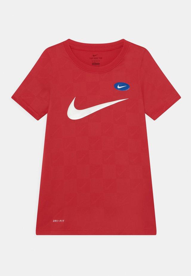 SOCCER UNISEX - T-shirt print - university red