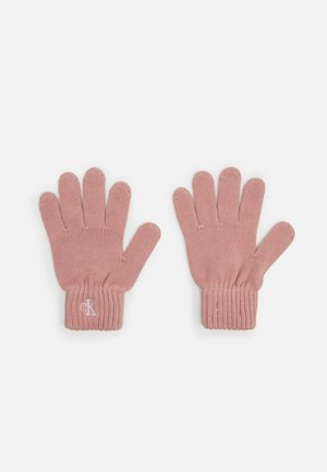 MONOGRAM GLOVES - Gloves - pink