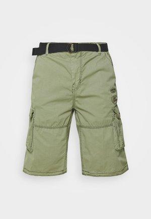 DURRAS PLUS - Cargo trousers - olive