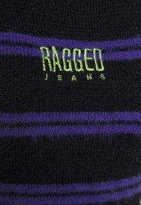 The Ragged Priest - NERVE DRESS - Strikket kjole - black/purple - 2