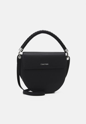 SADDLE BAG - Kabelka - black