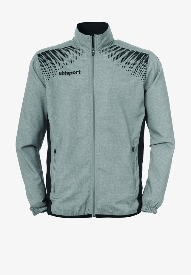 Training jacket - dunkelgrau / schwarz