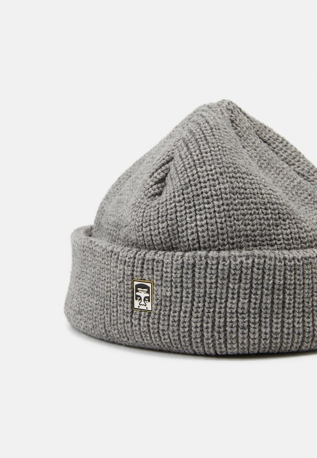 MICRO BEANIE UNISEX - Mössa - grey heather