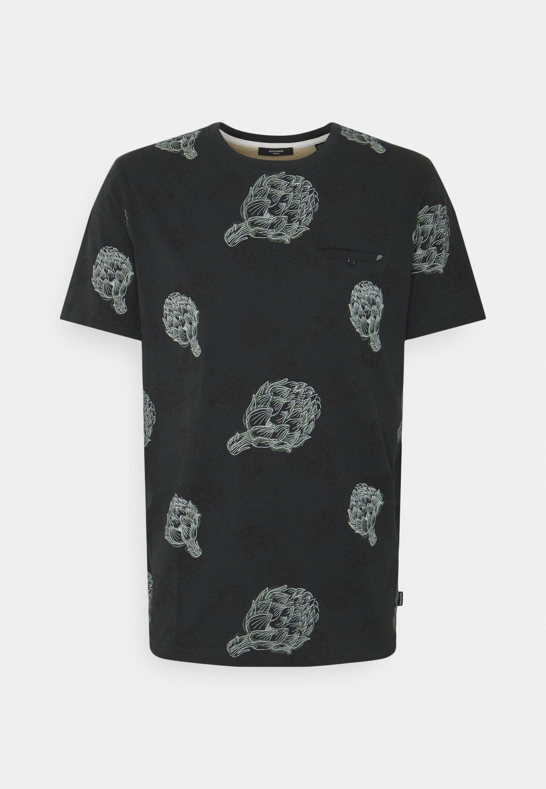 Men JPRARTI POCKET TEE - Print T-shirt