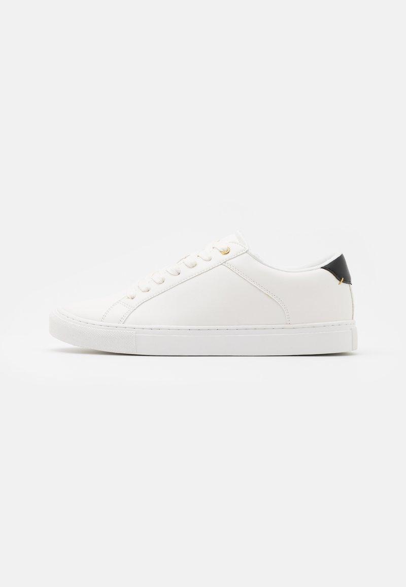 Zign - Matalavartiset tennarit - white/black