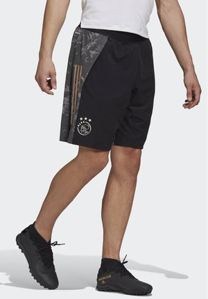 AJAX AMSTERDAM EU SHORTS - Sports shorts - black