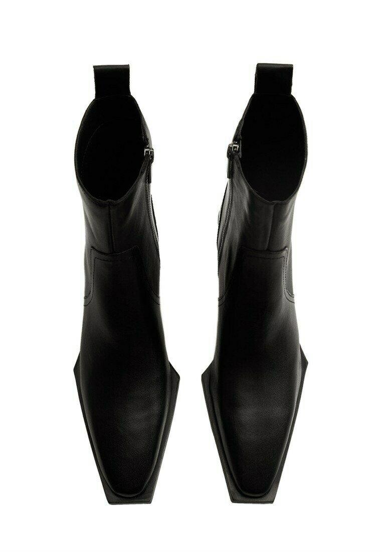 Mango - Classic ankle boots - Zwart
