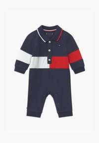 Tommy Hilfiger - BABY COLORBLOCK  - Mono - blue - 0