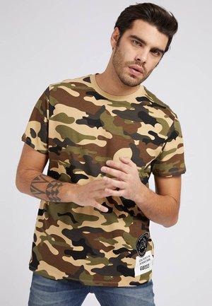 Print T-shirt - camouflage