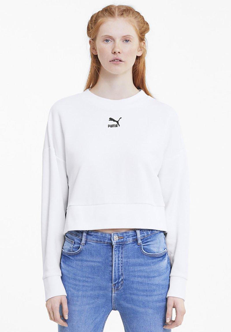 Puma - CLASSICS  - Sweatshirt - white