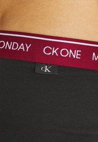 Calvin Klein Underwear - DAYS OF THE WEEK HIP BRIEF 7 PACK - Braguitas - black - 4