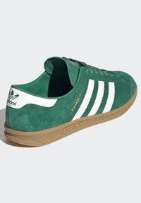 adidas Originals - HAMBURG TERRACE - Sneakers basse - green off white gum - 4