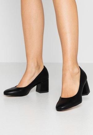 COURT SHOE - Klassiske pumps - black matt
