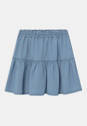 NKFBECKY - Denim skirt - light blue denim