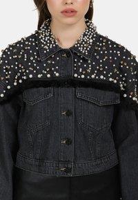 myMo ROCKS - Denim jacket - black - 3