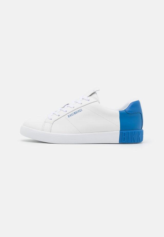 SAUL - Sneakersy niskie - white/bluette