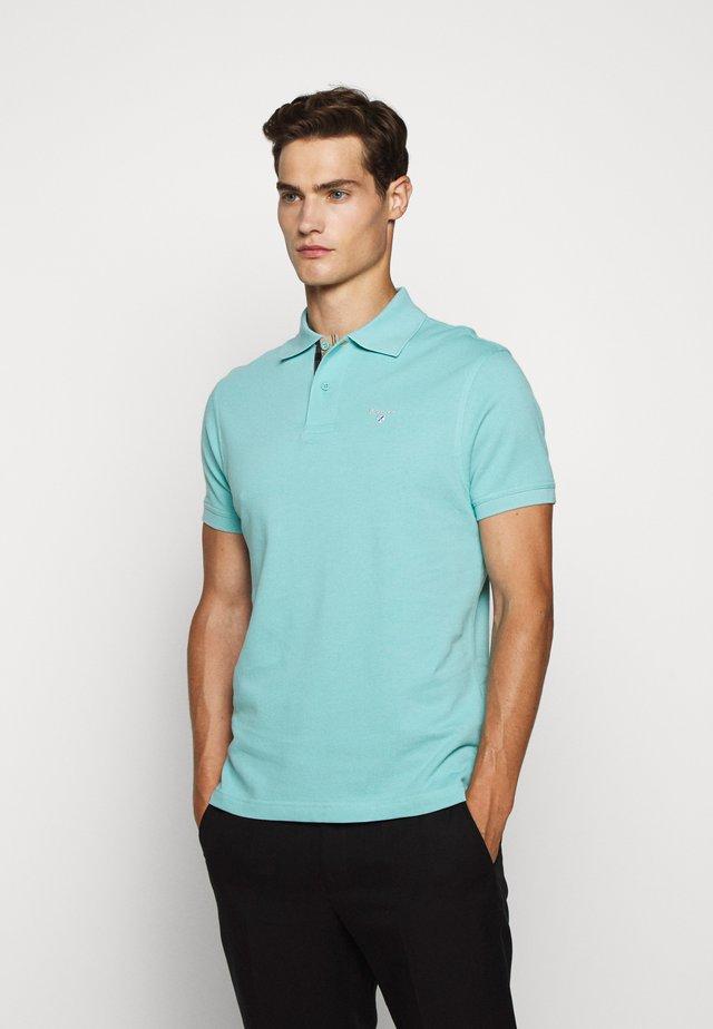 TARTAN  - Polo shirt - nile blue