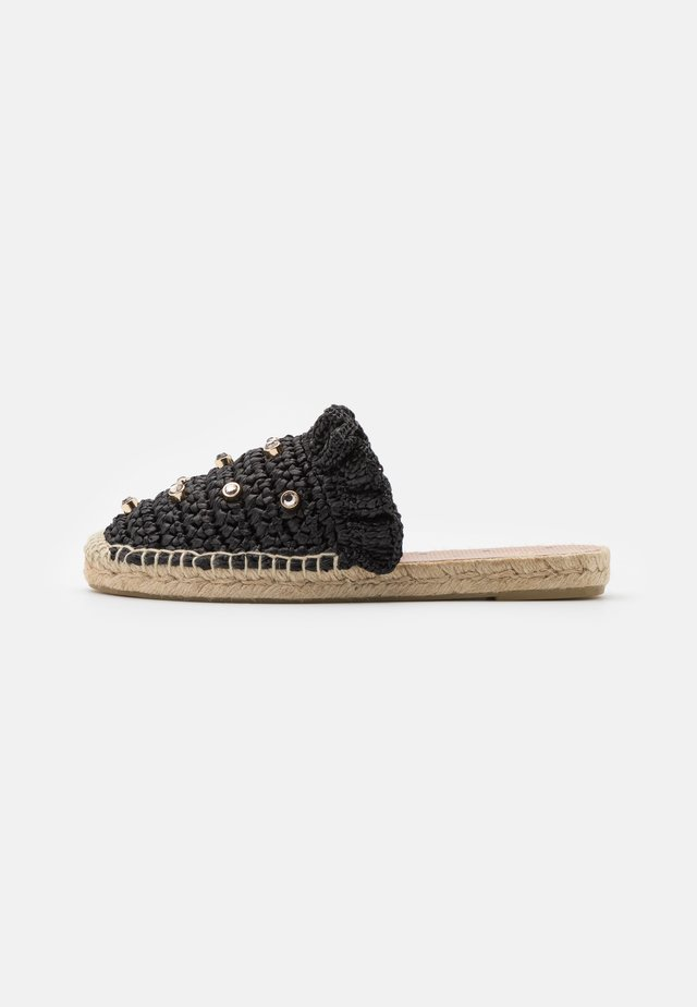 Pantofle - nero/black