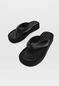 Stradivarius - Sandals - black - 2