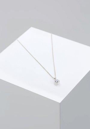 BASIC SOLITÄR - Kaulakoru - silver-coloured
