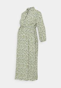 Pieces Maternity - PCMLUA MIDI DRESS - Maxi dress - garden green - 0
