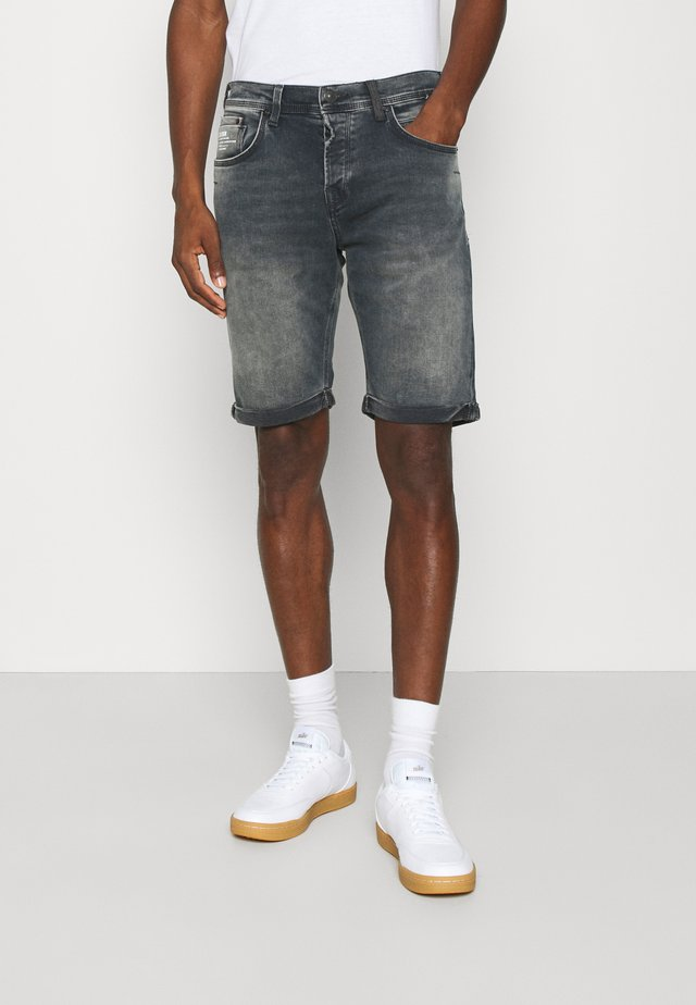 CORVIN - Denim shorts - neldor wash