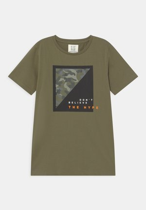 TEENAGER - Print T-shirt - olive