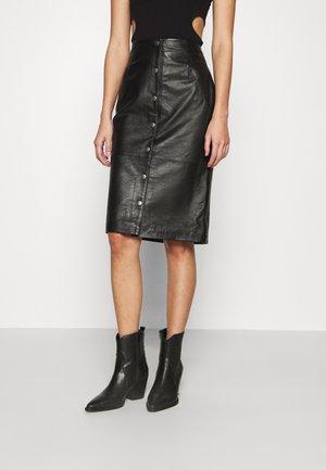 ONLVIYA SKIRT - Pencil skirt - black