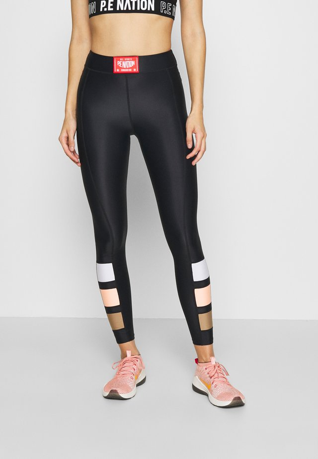 CROSS LIMITS LEGGING - Collants - black