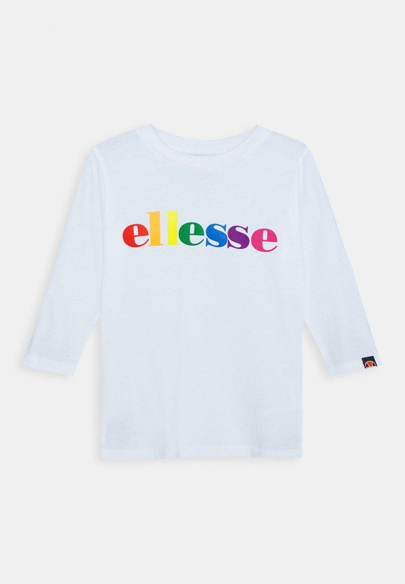 Ellesse - DISTIO UNISEX - Long sleeved top - white