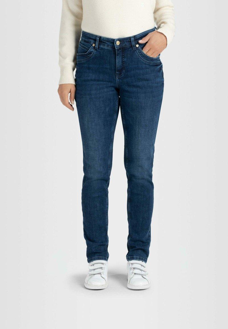 MAC - Slim fit jeans - blau