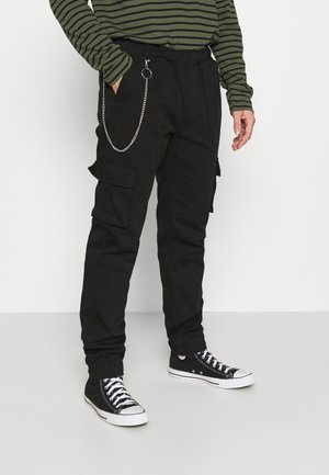 MILFORD TROUSER - Pantaloni cargo - black