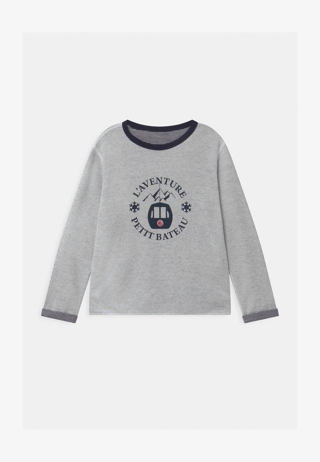 LOUSTIC REVERSIBLE  - Långärmad tröja - smoking/marshmallow