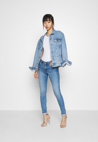 Pepe Jeans - PIXIE STITCH - Jeans Skinny Fit - blue denim - 1