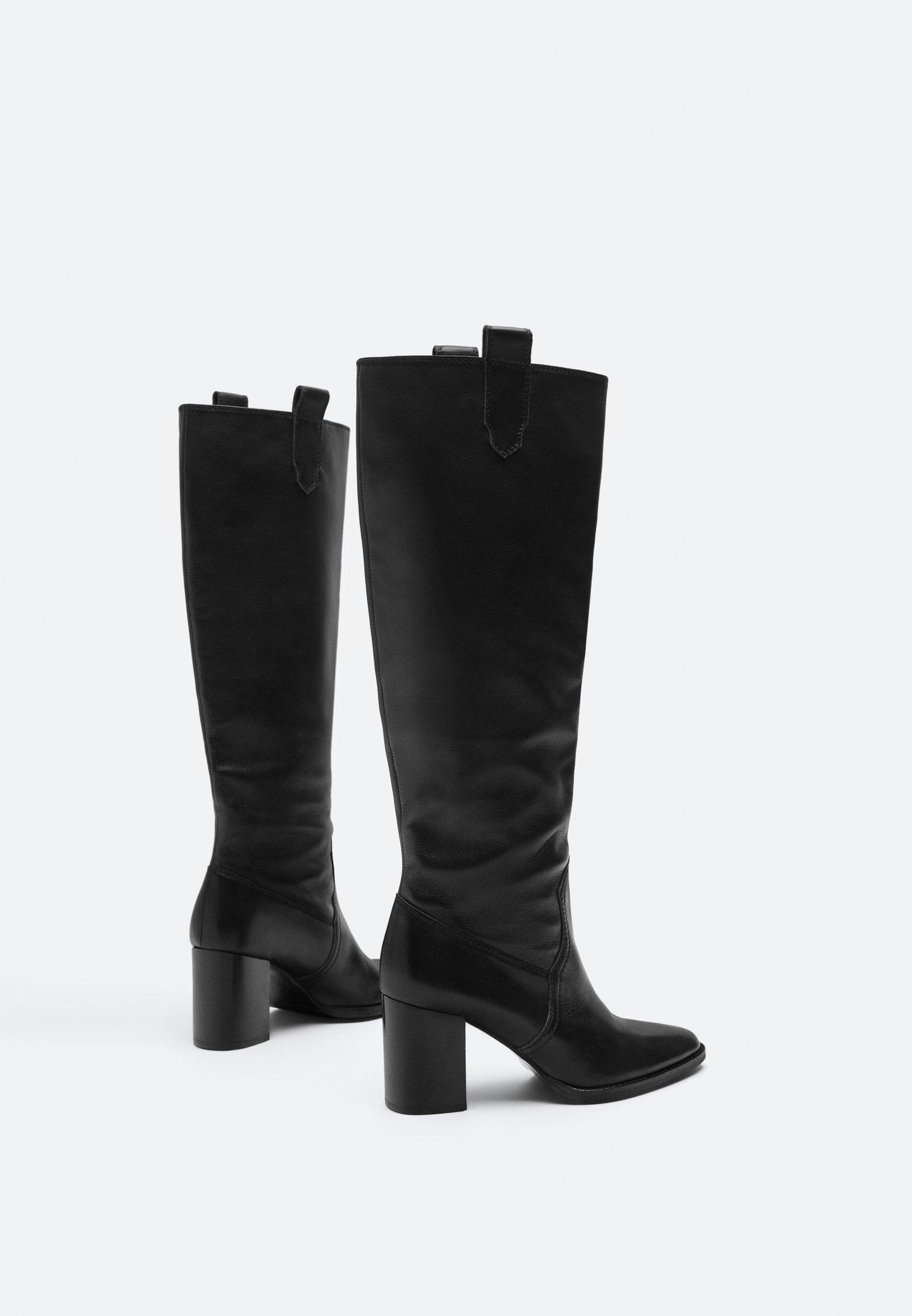 Uterqüe Laarzen met hoge hak - black - Damesschoenen Hot Koop