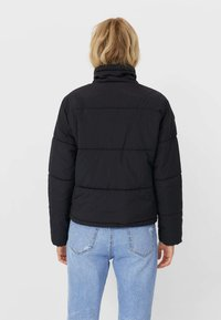 Stradivarius - Winter jacket - black - 2