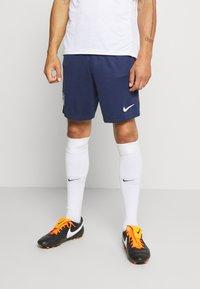 Nike Performance - Pantalón corto de deporte - midnight navy/white - 0