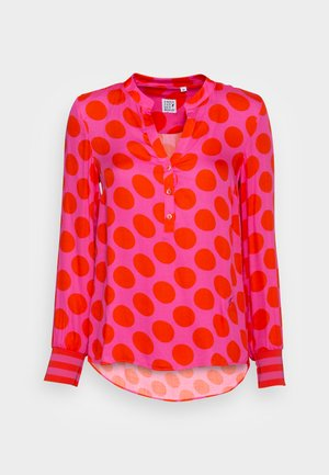 BLOUSE - Blouse - pink/red