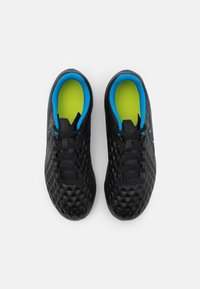 Nike Performance - TIEMPO JR LEGEND 8 CLUB FG/MG UNISEX - Moulded stud football boots - black/light photo blue/cyber - 3