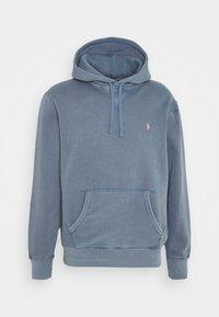 HOOD LONG SLEEVE - Sweatshirt - carson blue