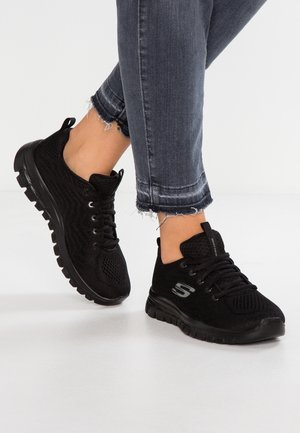 GRACEFUL - Sneakers laag - black