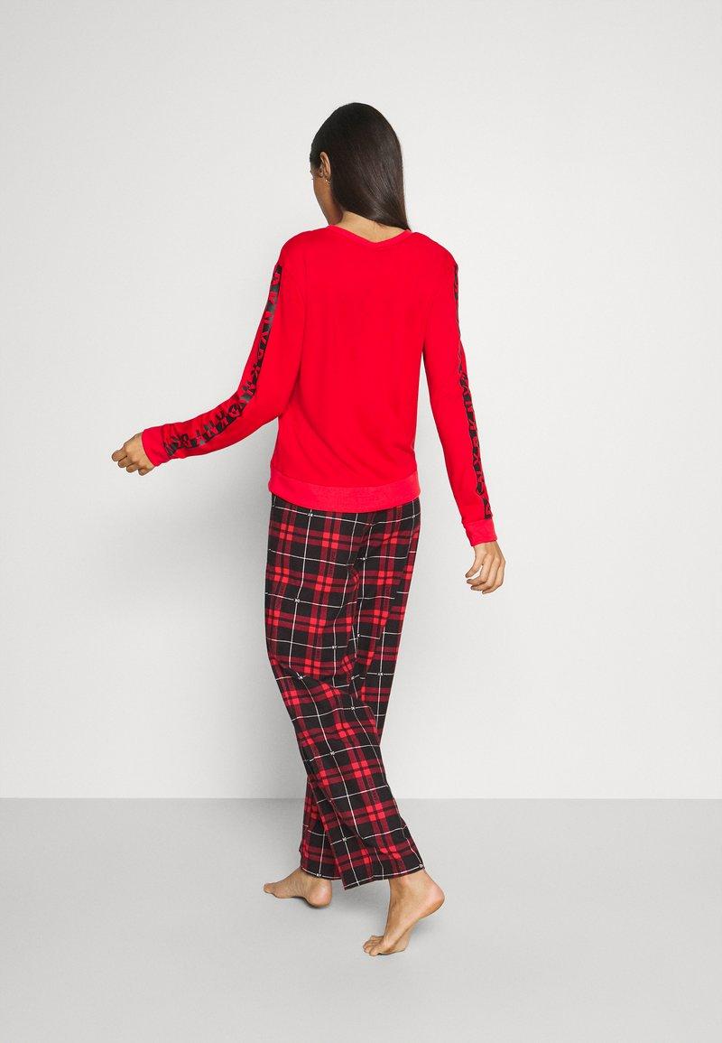 DKNY Intimates - SLEEP PANT - Nattøj bukser - ruby