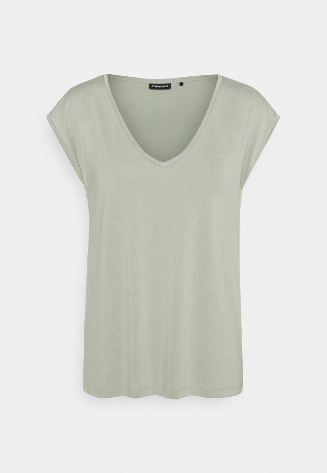 PCKAMALA TEE - T-shirt basic - desert sage