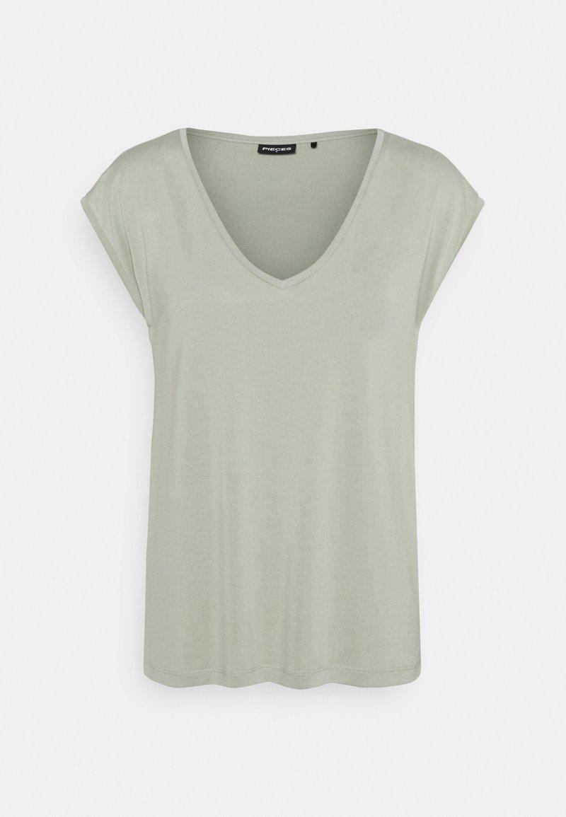 Pieces - PCKAMALA TEE - Basic T-shirt - desert sage